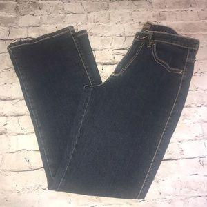 Aura Wrangler Blue Jeans Dark Wash Size 10R